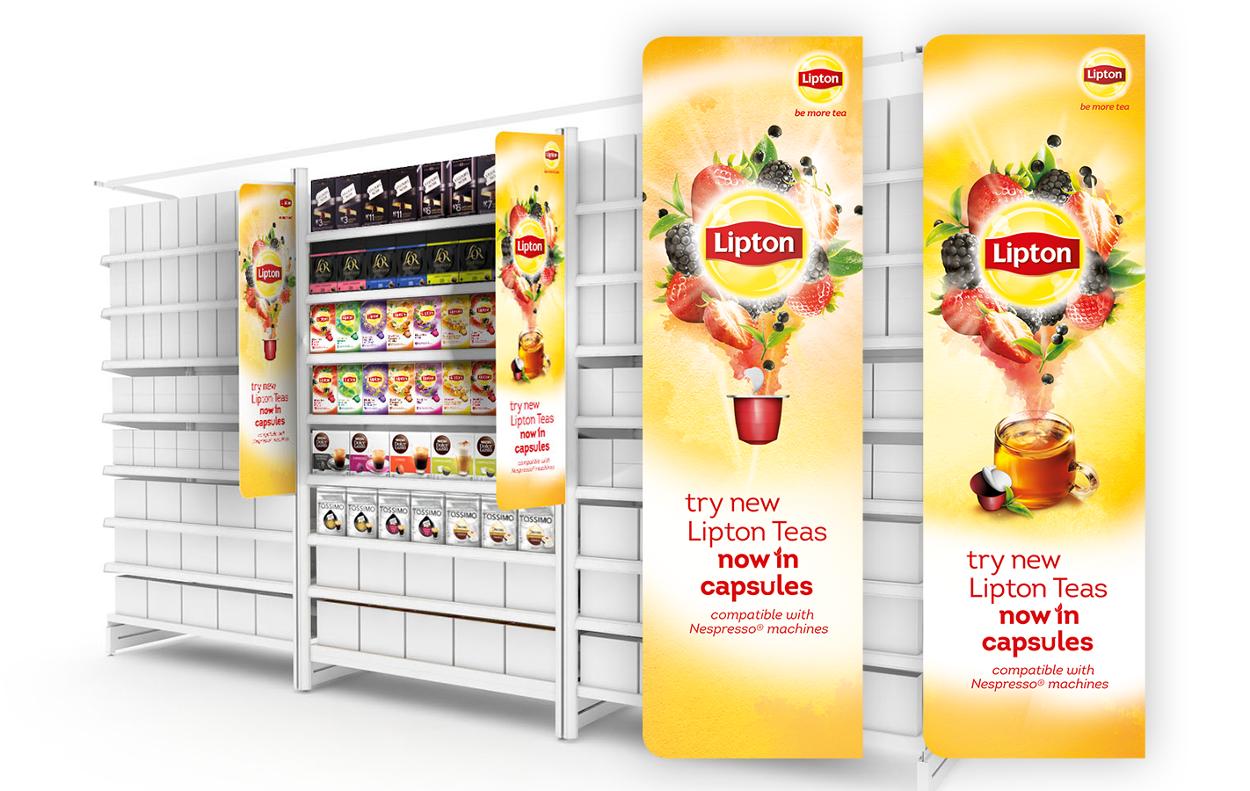 Lipton tea capsules rob hunter design - Capsule to by lipton ...